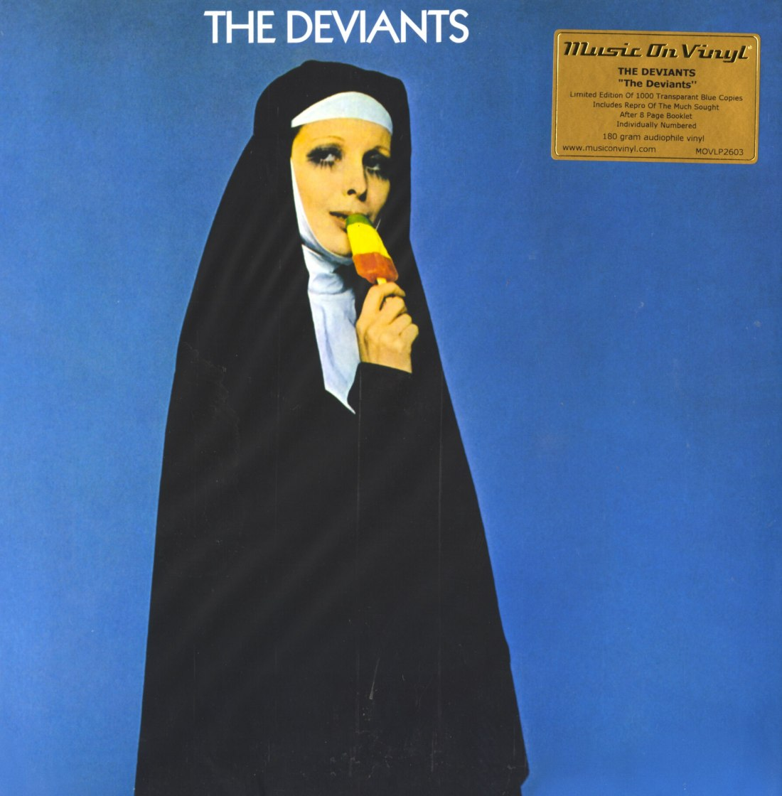 The Deviants - The Deviants - Limited Edition, Blue, Colored Vinyl, Music On Vinyl, 2020