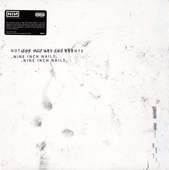 Nine Inch Nails - Not The Actual Events - Vinyl, EP, Nothing, 2017