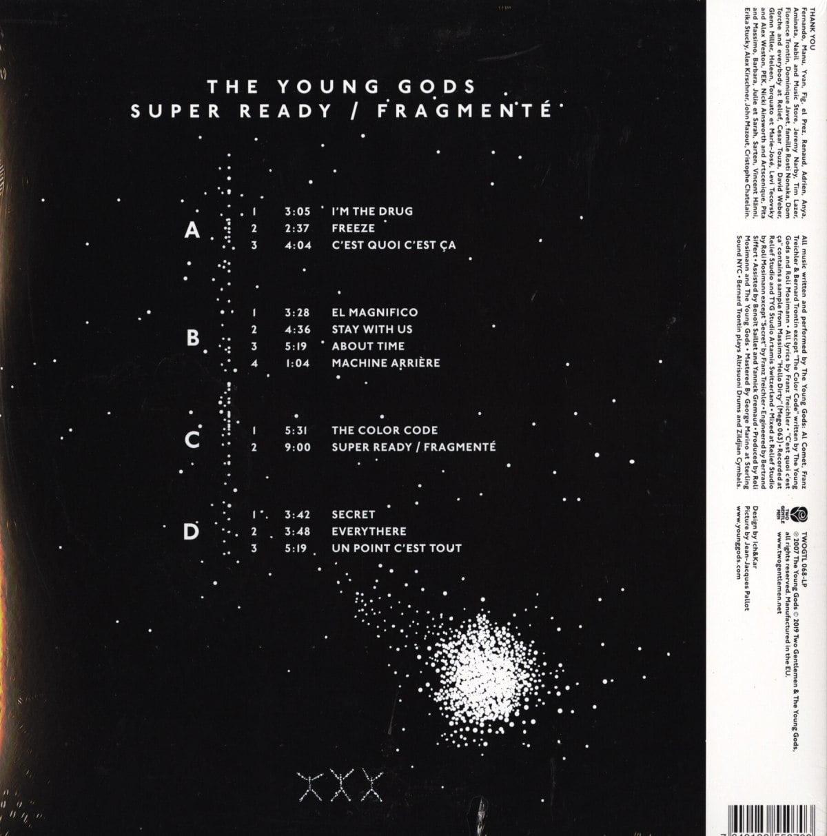 The Young Gods - Super Ready / Fragmenté - Double Vinyl, LP, Reissue, Two Gentlemen Records, 2020