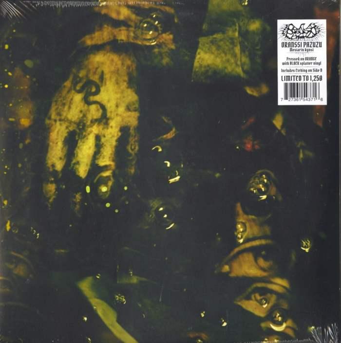 Oranssi Pazuzu - Mestarin Kynsi - Ltd Ed, Orange, Black, Vinyl, Nuclear Blast, 2020
