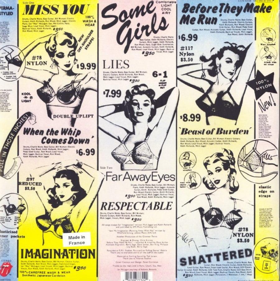 Rolling Stones - Some Girls - Half Speed Mastered, 180 Gram, Audiophile Vinyl, LP, Reissue, Interscope Records, 2020