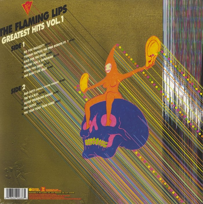 Flaming Lips - The Flaming Lips Greatest Hits Vol. 1 - Vinyl, LP, Warner Records, 2018