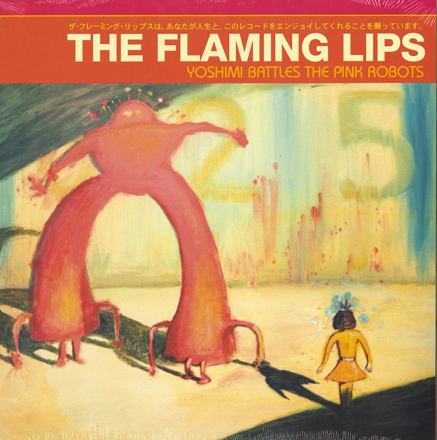 Flaming Lips - Yoshimi Battles the Pink Robots - Vinyl, LP, Reissue, Warner Records, 2012