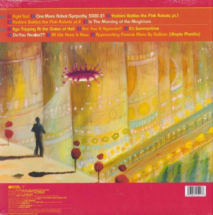 Flaming Lips - Yoshimi Battles the Pink Robots - Vinyl, LP, Reissue, Warner Records, 2012