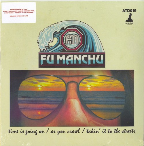 "Fu Manchu - Fu30, Pt. 1 - Limited Edition, Orange Colored Vinyl, 10"", EP, At The Dojo, 2020"