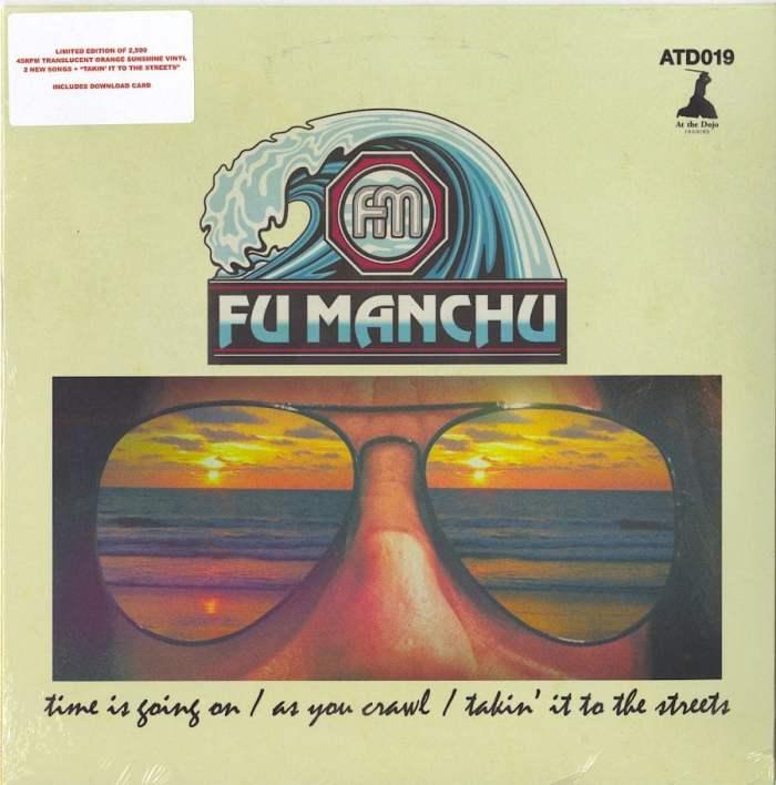 "Fu Manchu - Fu30, Pt. 1 - Limited Edition, Orange Colored Vinyl, 10"", EP, At The Dojo, 2020"