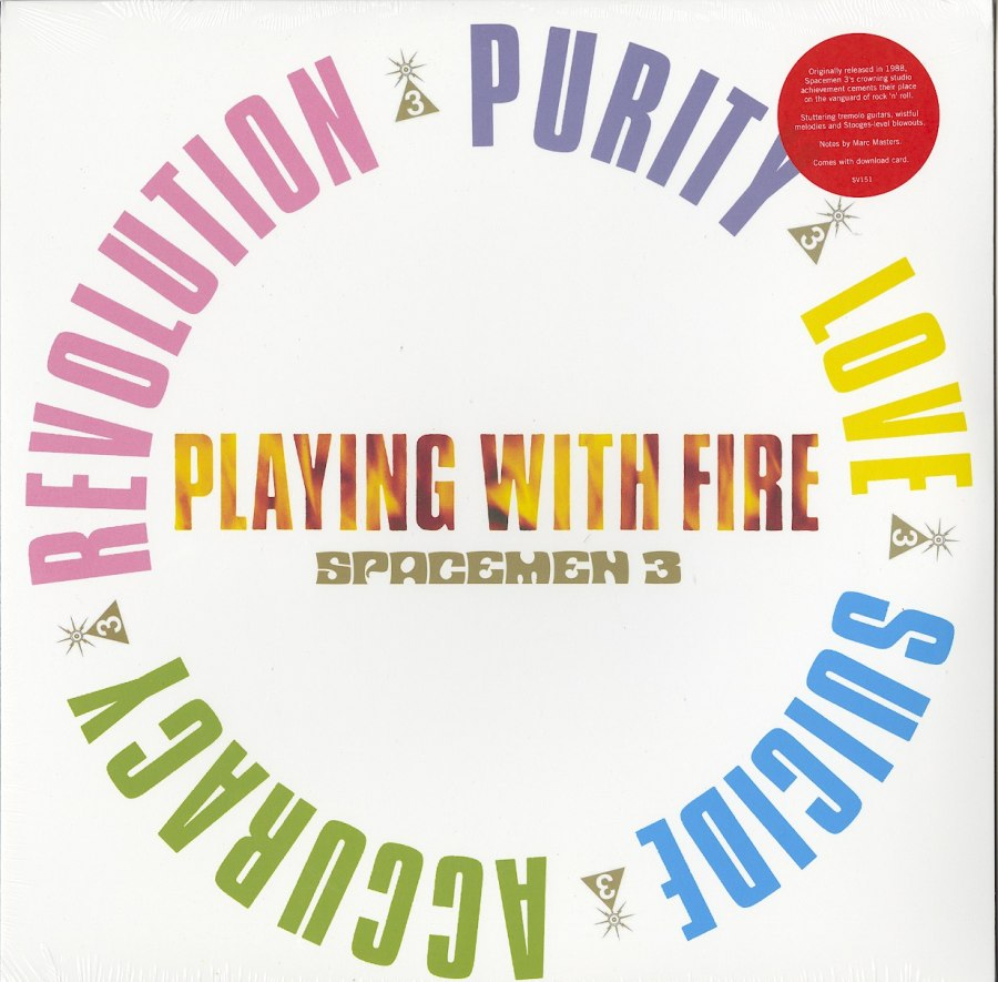 Spacemen 3 - Playing With Fire - Vinyl, LP, Reissue, Superior Viaduct, 2018