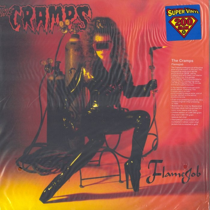 Cramps - Flamejob - Limited Edition, 200 Gram, Vinyl, Drastic Plastic, 2014