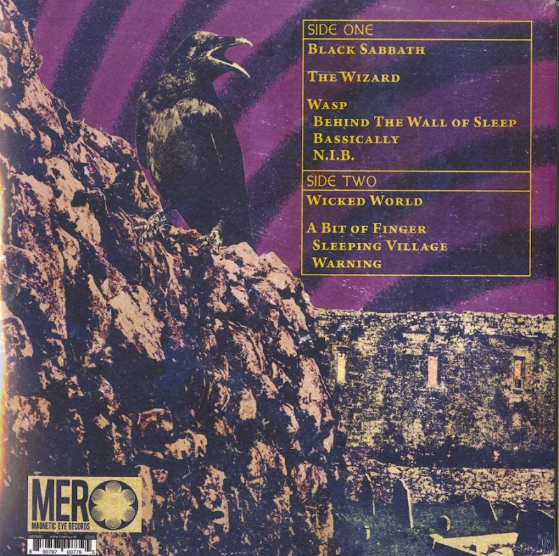 Zakk Sabbath - Vertigo - Limited Edition, Yellow, Colored Vinyl, LP, Magnetic Eye, 2020