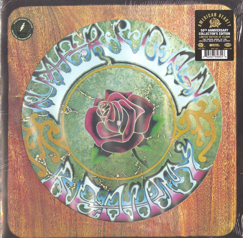 Grateful Dead - American Beauty - Limited Edition, Picture Disc, Vinyl, LP, Rhino, 2020