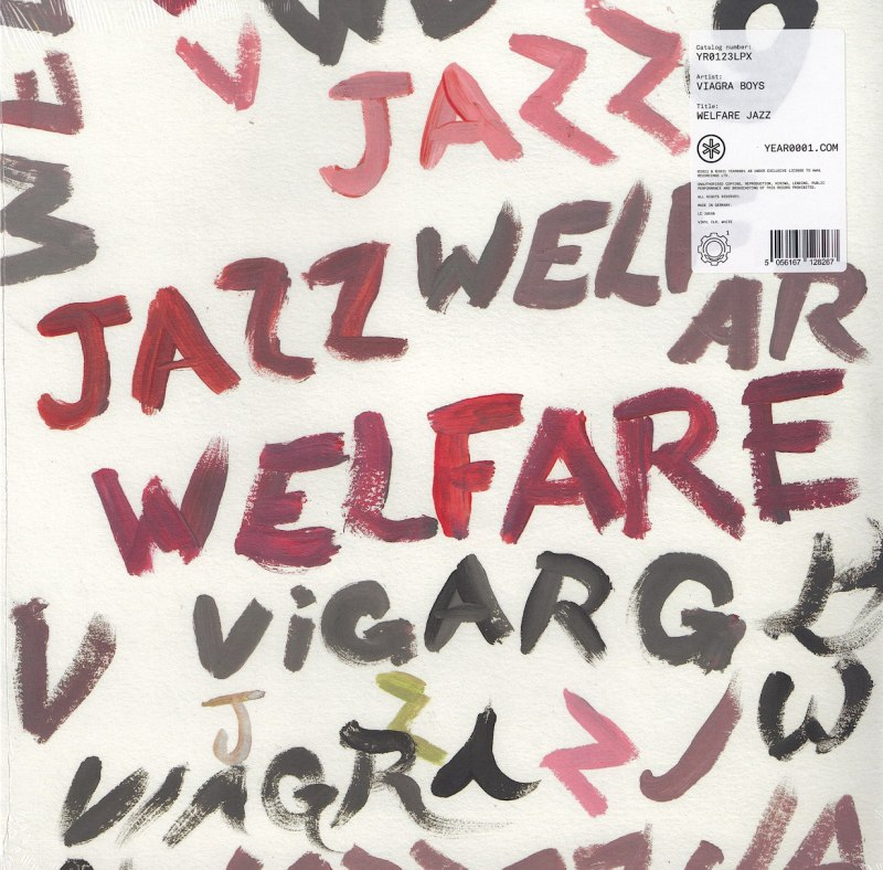 Viagra Boys - Welfare Jazz - Limited Edition, White, Colored Vinyl, Year0001, 2021