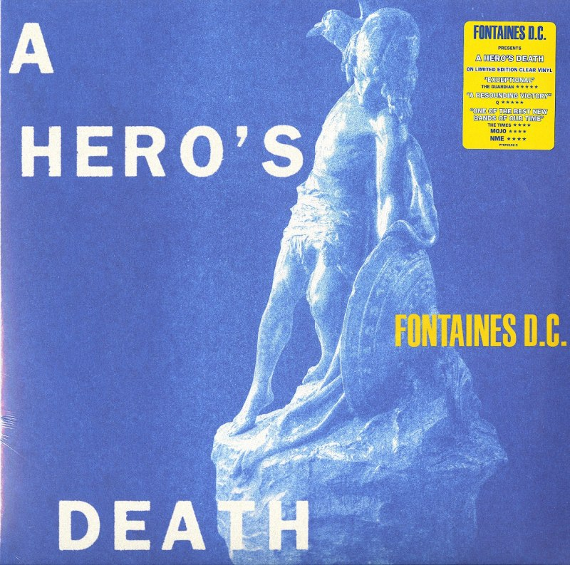 Fontaines D.C. - A Hero's Death - Clear Vinyl