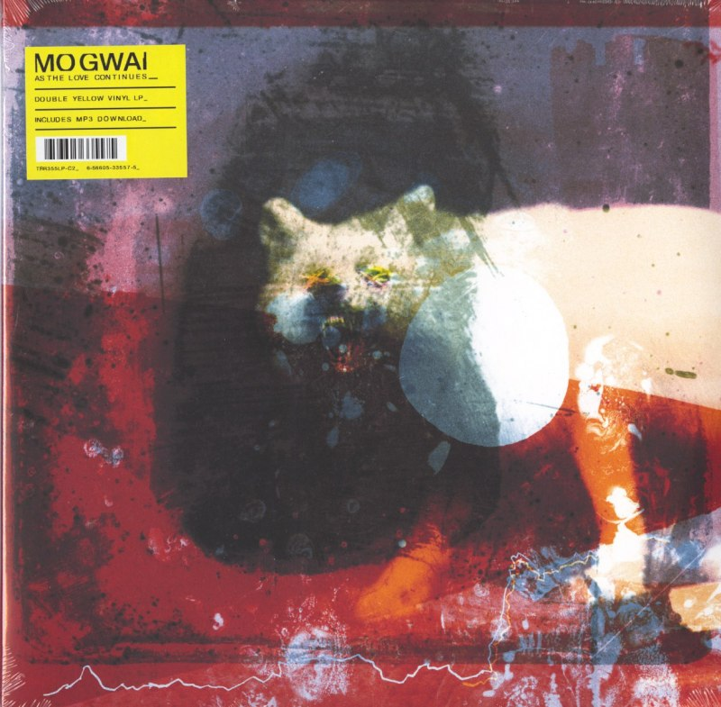 Mogwai - As The Love Continues - Limited Edition, Yellow, 2XLP, Vinyl, Temporary Residence, 2021