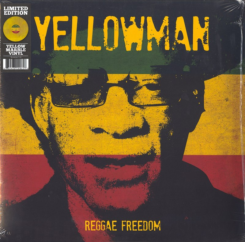 Yellowman - Reggae Freedom - Yellow Marble, Colored Vinyl, LP, Goldenlane, 2021