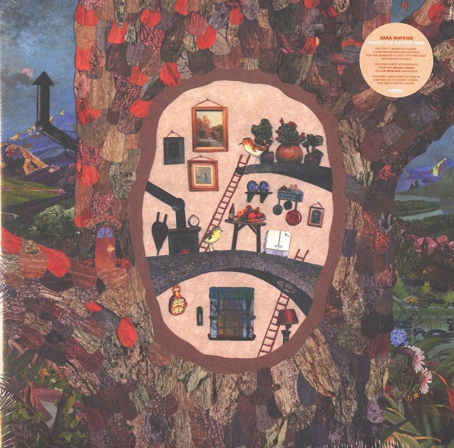 Sarah Watkins - Under The Pepper Tree - Ltd Ed, Pink, Silver, Vinyl, LP, New West, 2021