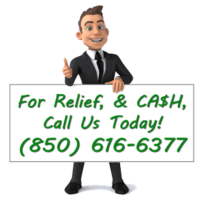for relief and cash for your house in the Pensacola FL area call Buy My House Guru today