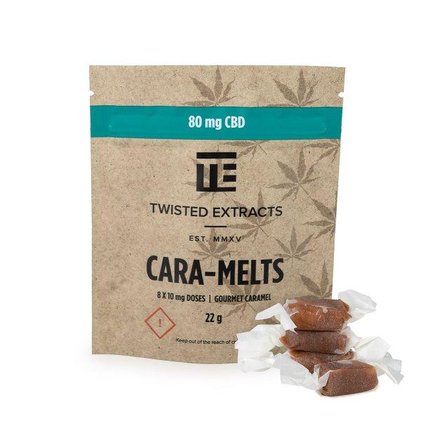 Twisted Extracts - CBD Cara-Melts (80mg CBD)