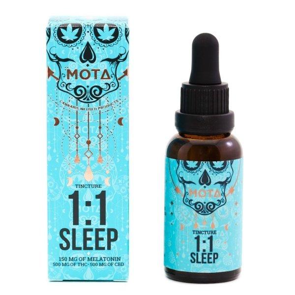 MOTA - THC/CBD 1:1 SLEEP TINCTURE