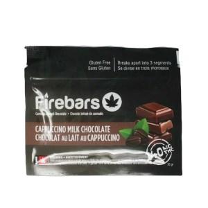 Fire Bars- Cappuccino Milk Chocolate (140 MG THC)