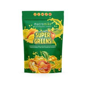 Macro Mike Mango Peach Super Greens 300g