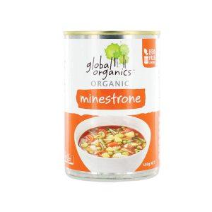 Global Organics Soup Minestrone Organic 400g