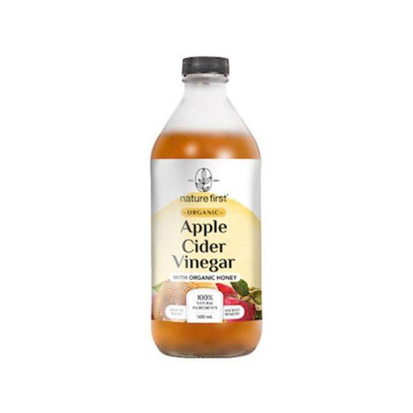 Nature First Apple Cider Vinegar with Honey Organic 500g