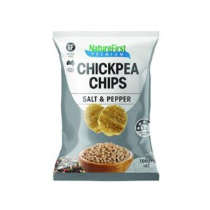 Nature First Chips Chickpea with Salt & Pepper 100g