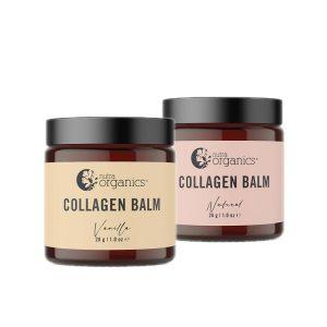 Nutra Organics Collagen Balm Natural & Vanilla