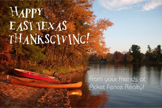 happy thanksgiving east texas