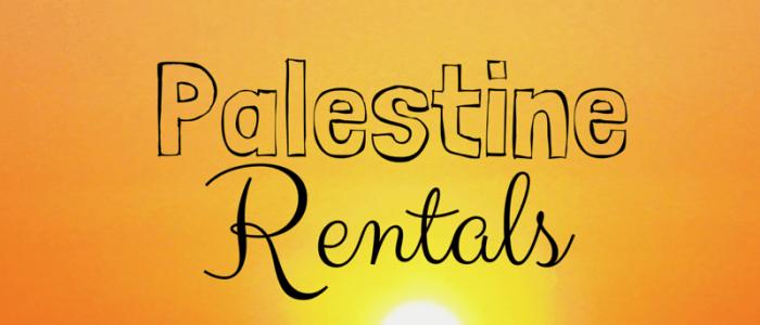 Palestine Rentals – My Openings as of May 26, 2015