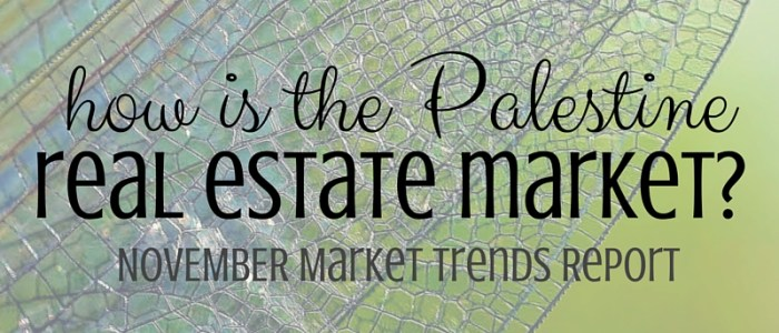 Palestine Real Estate Market Report– November 2015