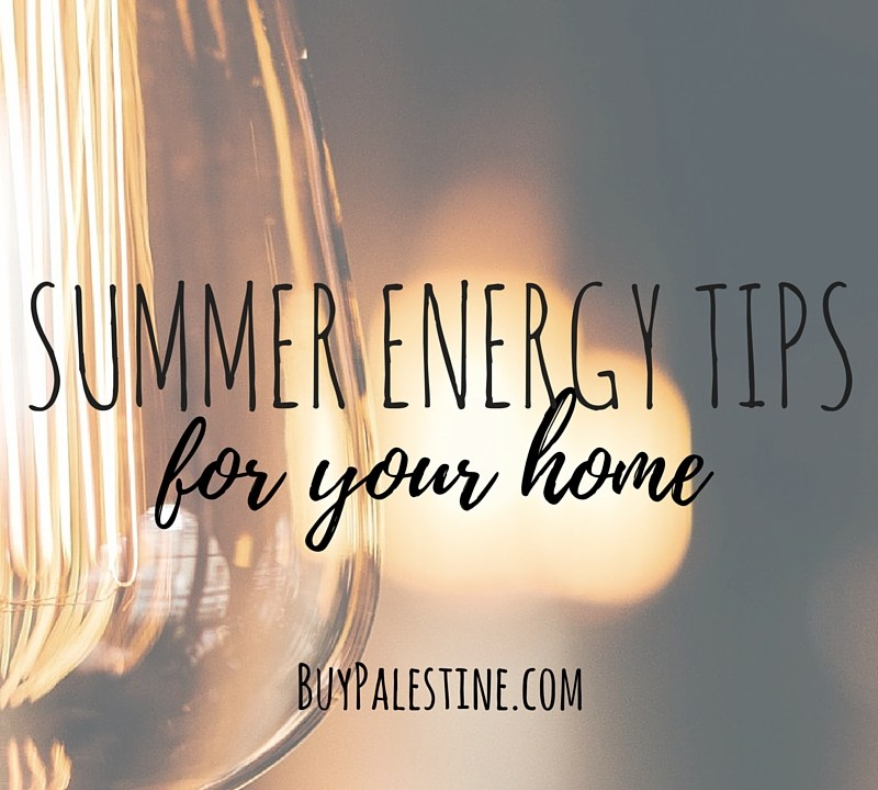 Summer Energy Tips for your palestine tx home