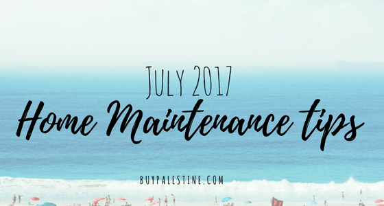 July Home Maintenance Tips for your East Texas Home