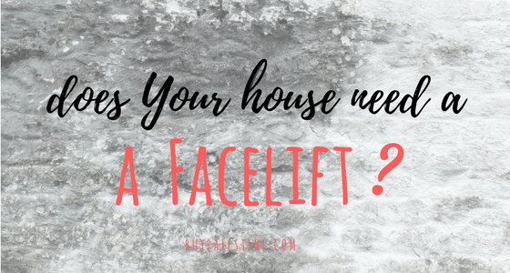 Does Your House Need a Facelift?
