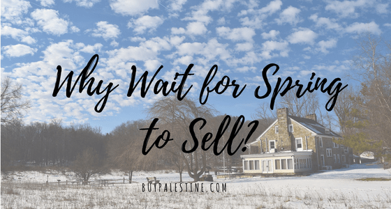 Why Wait for Spring to Sell?