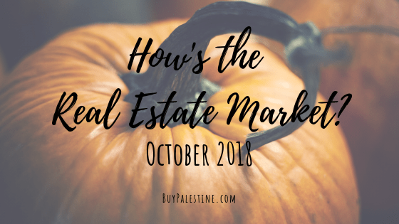 How's the Market? – October 2018 Real Estate Report