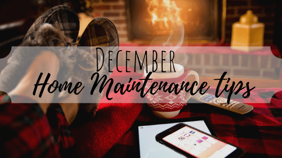 "December ""Honey-Do"" List for your Home"