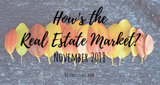 How's the Market? – November 2018 Real Estate Report