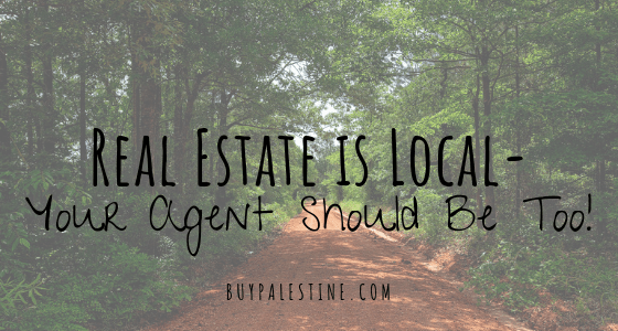 Real Estate is Local, Your Agent Should Be Too!