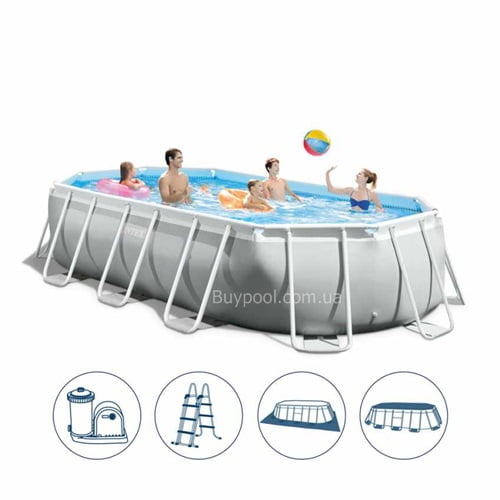 Каркасный бассейн Intex 26796