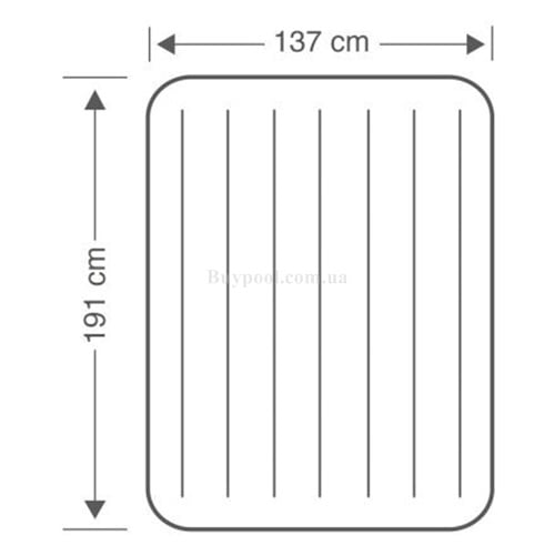Надувной матрас Intex 64758