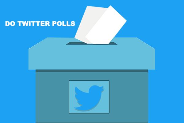 Do twitter polls