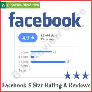 Buy Facebook 3 Star Rating