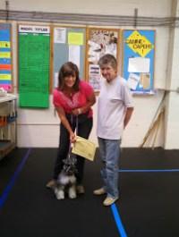 Dog Cathy Camarda and Ruby