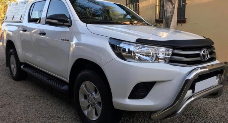 2021 Toyota Hilux 2.4GD6 Double Cab
