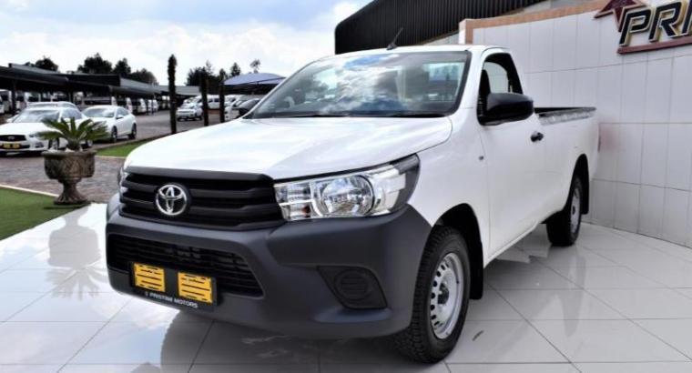 2021 Toyota Hilux 2.8GD6 Single Cab