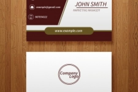 Free business card templates ai vectors stock for free download     vector business card template