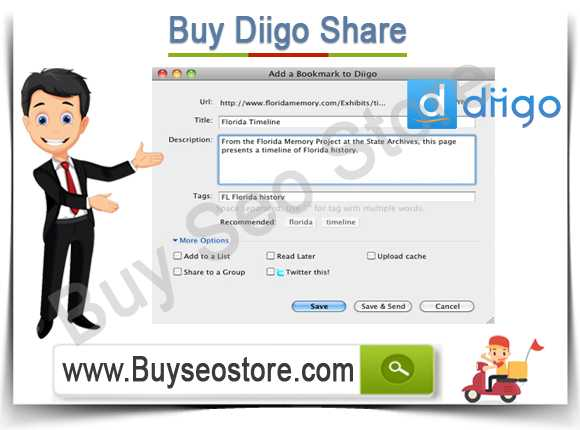 Buy Diigo Share