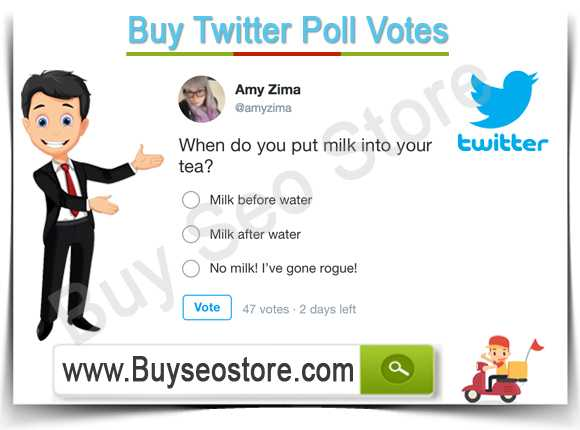 Buy Twitter Poll Votes