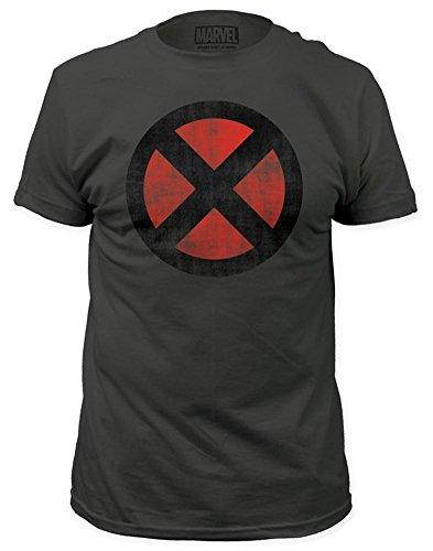 Marvel X-Men Classic Comics Distressed Logo T-Shirt XL